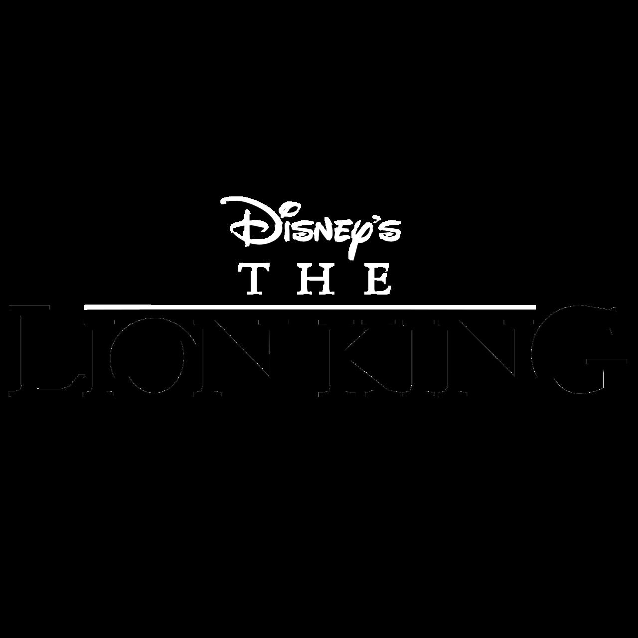 Disney S The Lion King Logo Black And White Brands Logos