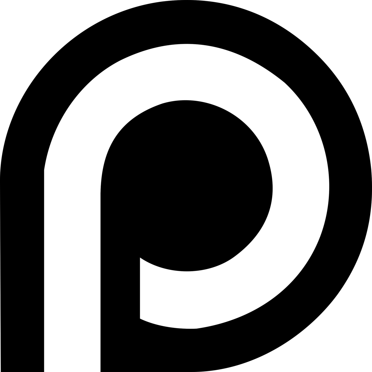 Patreon Logo Black and White 20 – Brands Logos