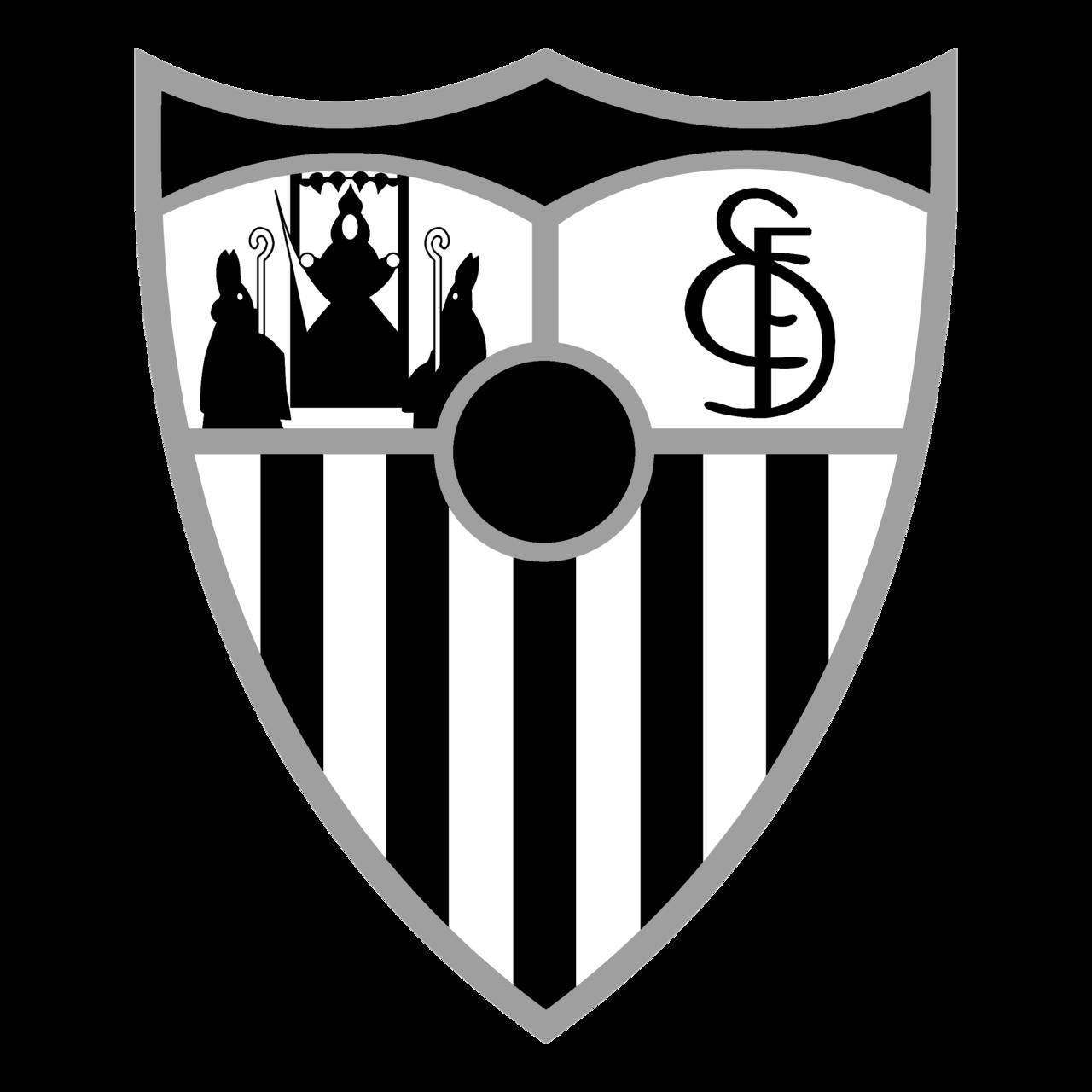 Sevilla Fc Logo Black And White Brands Logos